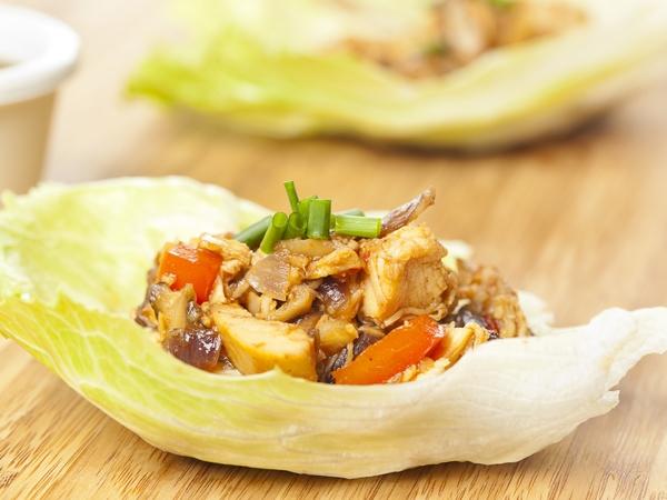 100-Calorie Snack: Lettuce Wraps