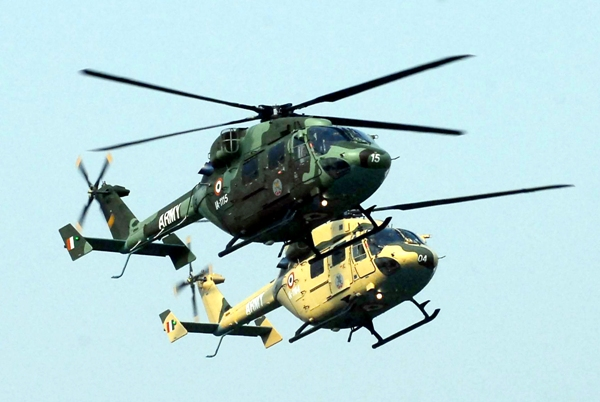Helicopters on republic day