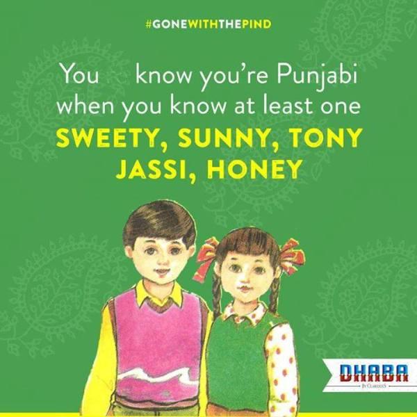 punjabi nicknames
