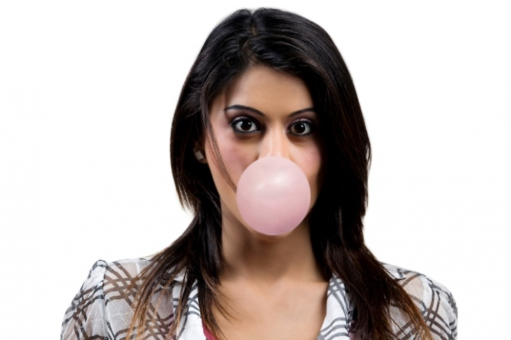 Chewing gum.