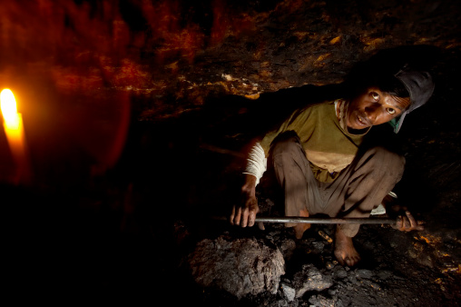 Coal miners india