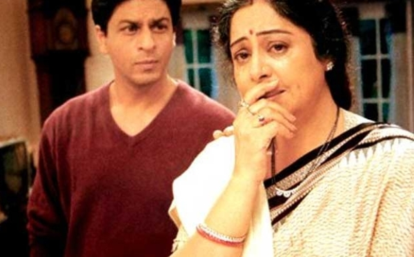 Shahrukh and Kirron Kher