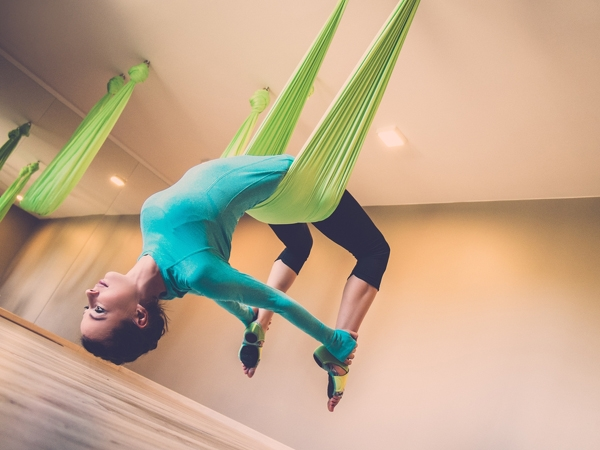 All You Need To Know About Aerial Yoga