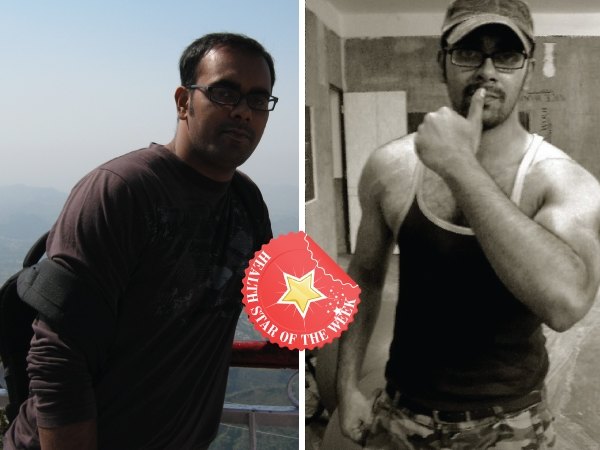 Health Star Of The Week: Rahul's Craig Capurso Style Weight Loss
