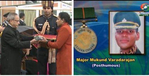 Major Mukund Vardarajan