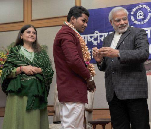 Devesh Kumar Bravery award