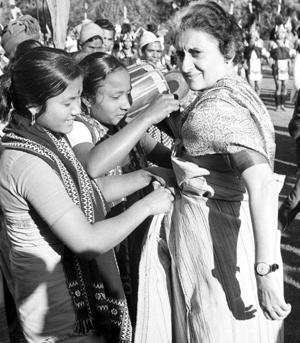 Indira Gandhi Republic Day 1970