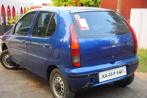 car with learners