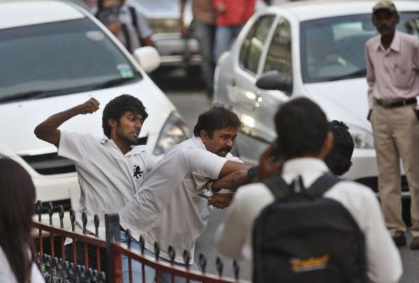Fighting in India