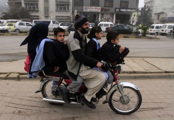 bike peshawar school