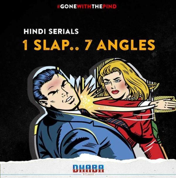 serial comic slap