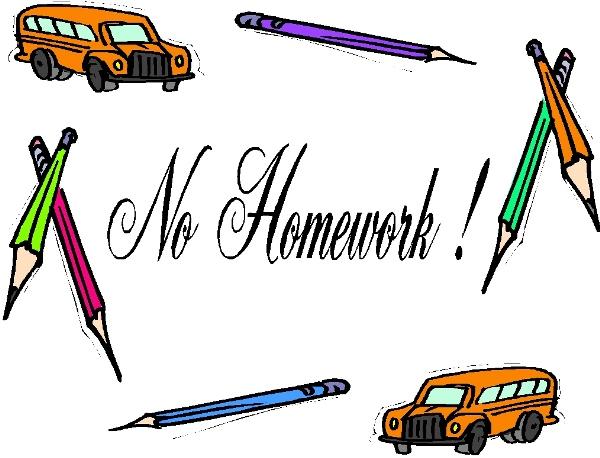 No homework creative