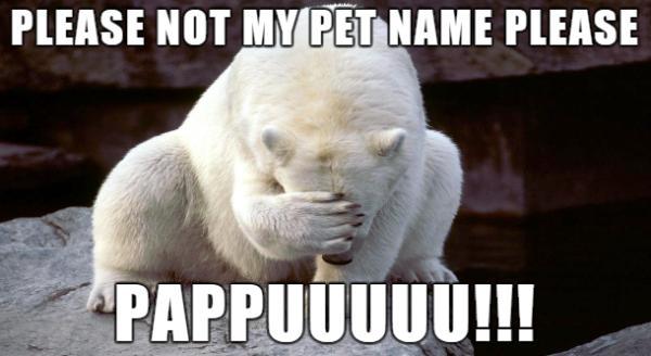Pappu is sad