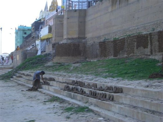 Banks of Ganga