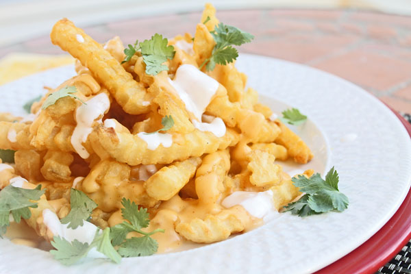 cheese chipotle fries
