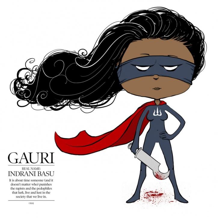 Food Superhero Gauri