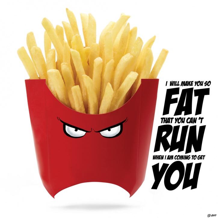 Food Superhero French Fries