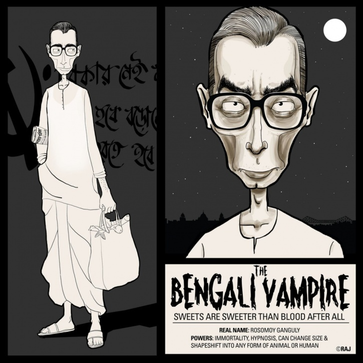 Food Superhero Villian Bengali Vampire