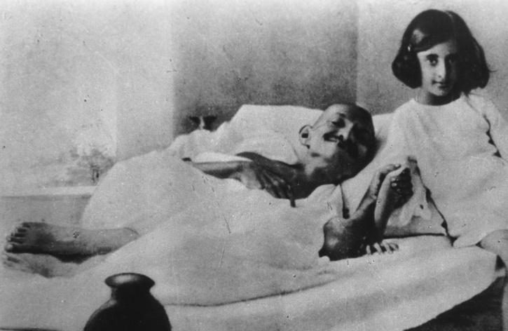 Mahatma Gandhi and Indira Gandhi