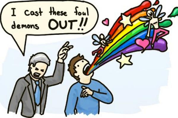 gay demon funny