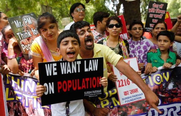 population control demonstration