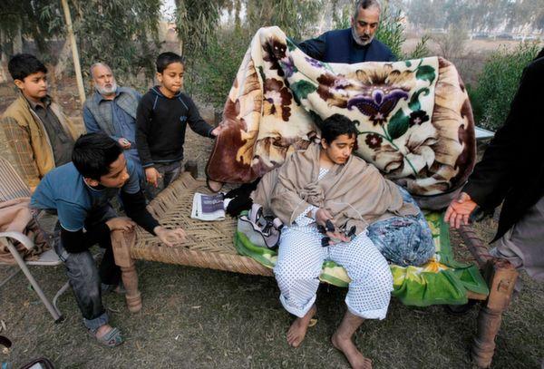 injured peshawar survivor