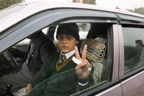 kid survivor peshawar
