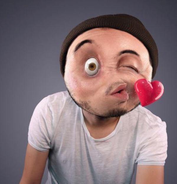 human emoticon
