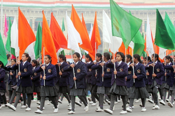 March past republic day