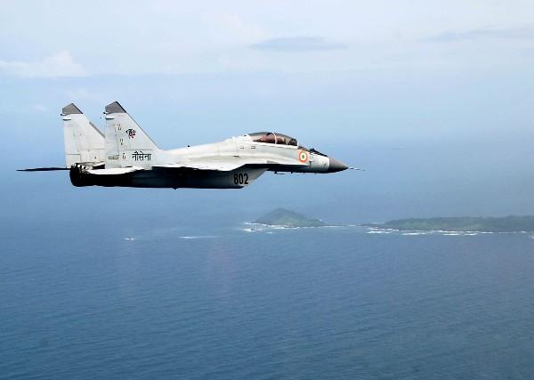 Mig 29K supersonic jet