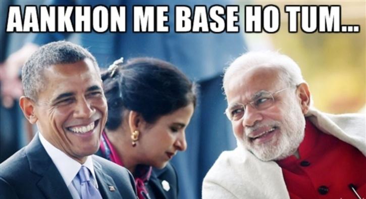 Modi Obama
