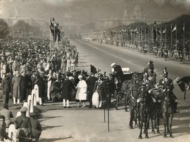 queen elizabeth 1961 republic day