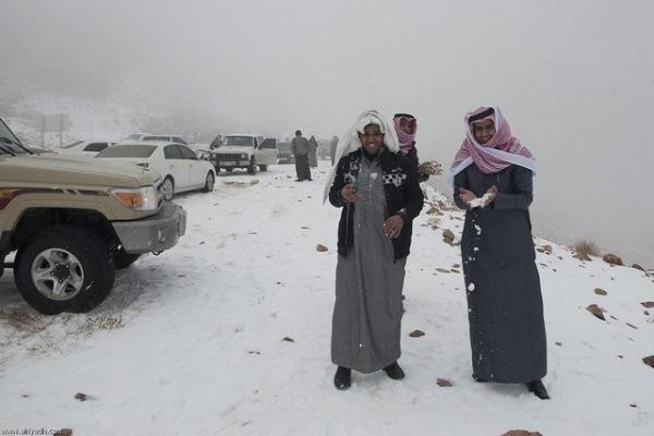 snow in saudi arabia