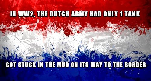 Gotta love the Dutch