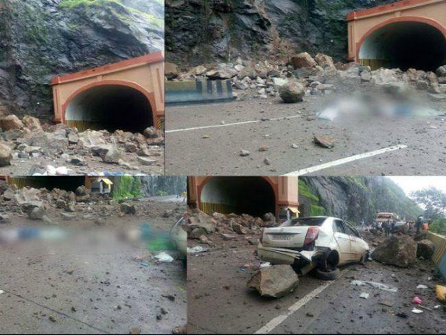 Mumbai-Pune Expressway Landslide