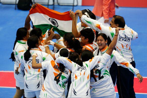 women kabaddi team of India