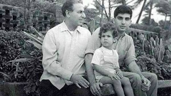 Ratan Tata with Naval and Noel Tata