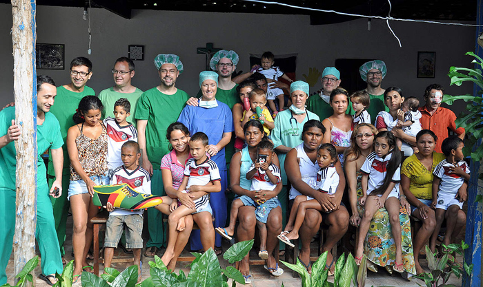 Ozil's charitable trust and Big Shoe have tied up to fund the operation of these 11 children.