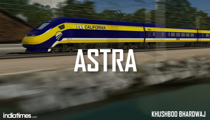 Astra Indian Bullet train