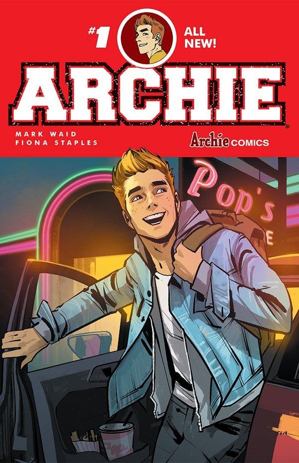 archie andrews new comic