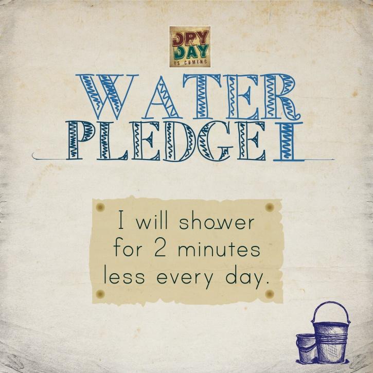 Water pledge