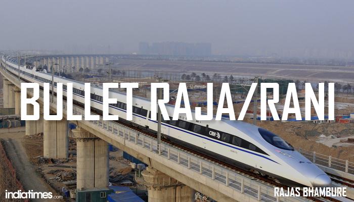 Bullet Raja Indian bullet train names