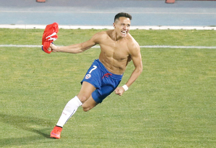 Alexis Sanchez scored the penalty to give Chile the Copa America title.