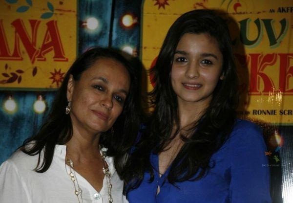 Alia Bhatt and mom
