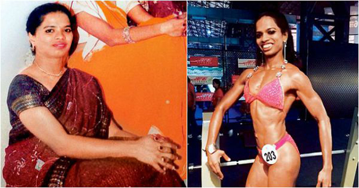 Ashwini Waskar went to the gym to lose weight, but her passion for bodybuilding increased.