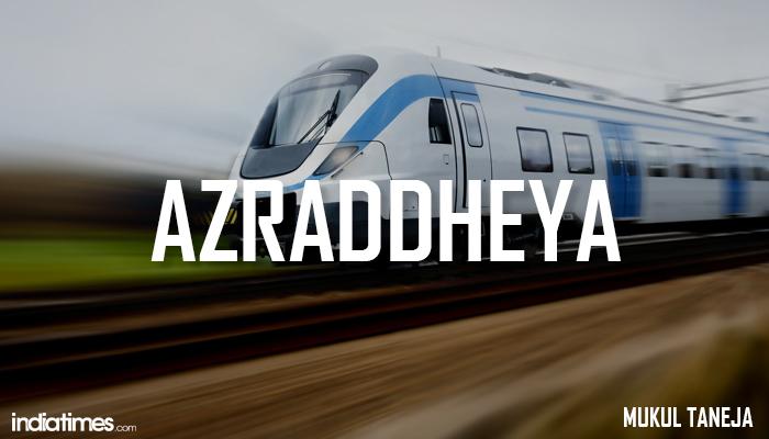 Indian bullet train names
