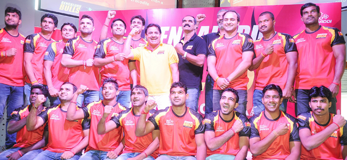 Bengaluru Bulls have a Polish player in their Kabaddi team in the second season.