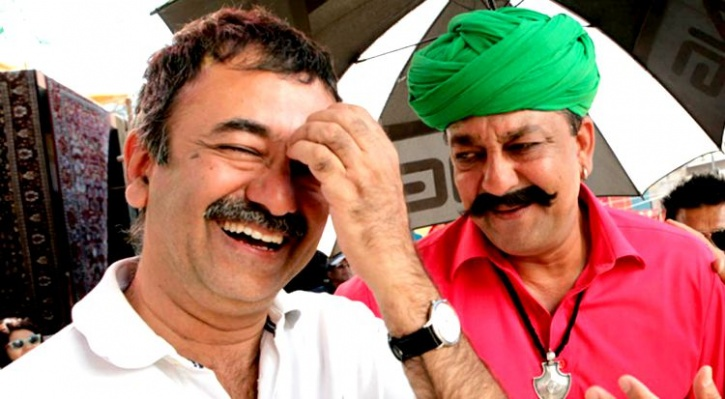 Sanjay Dutt and Hirani