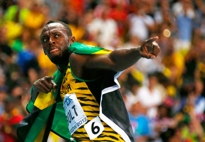 In order to prolong his career, Bolt has decided to leave junk food.