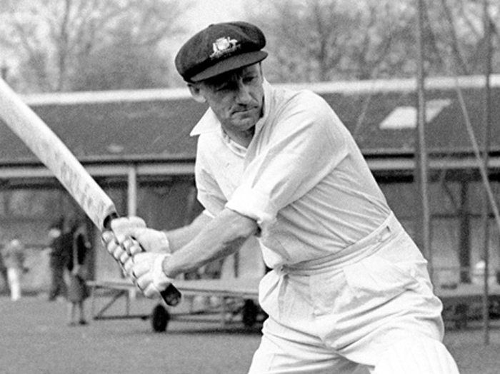 Don Bradman was instrumental in tormenting England again as they chased down 404 in the 1948 series.